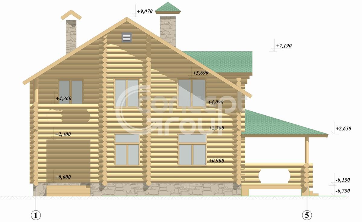 Готовые дизайн проекты домов и коттеджей
